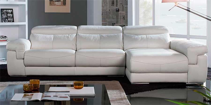 Sofas en piel amazing madrid chaise longue piel natural - Marcas de sofas de piel ...