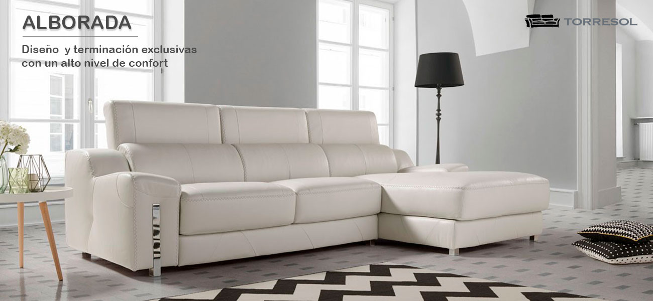 Sof s de torresol en piel factory del mueble utrera for Sofas de calidad en madrid