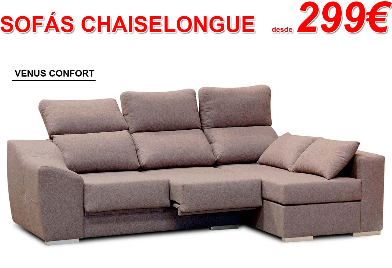 Sofá Chaise longue | Factory del Mueble Utrera