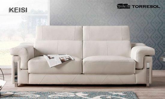 Sof s de torresol en piel factory del mueble utrera - Factory del sofa sevilla ...