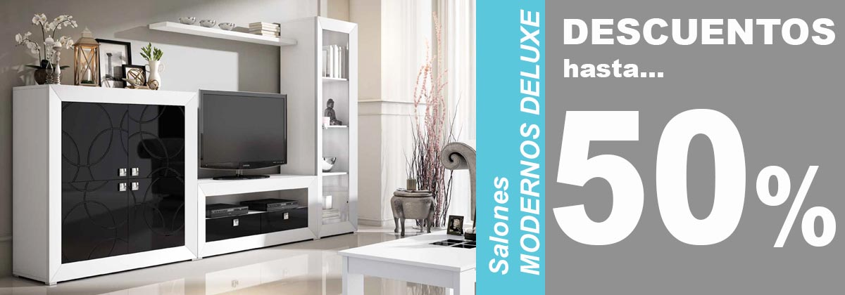 Salones modernos deluxe
