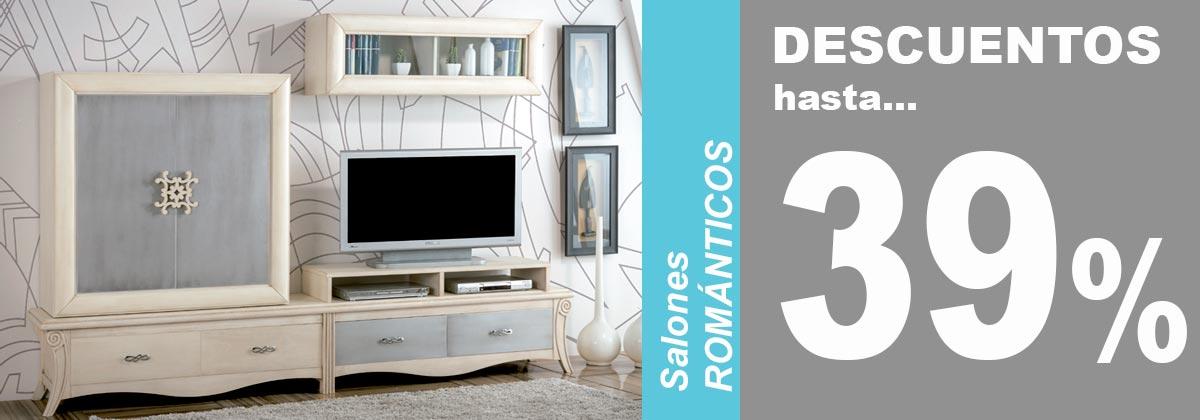 Salones estilo rom ntico factory del mueble utrera - Salones romanticos ...