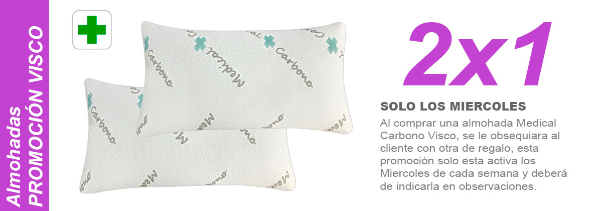 Almohada medical carbono