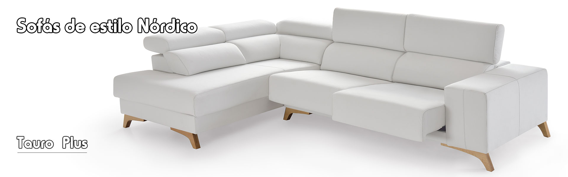 Sofa estilo nordico