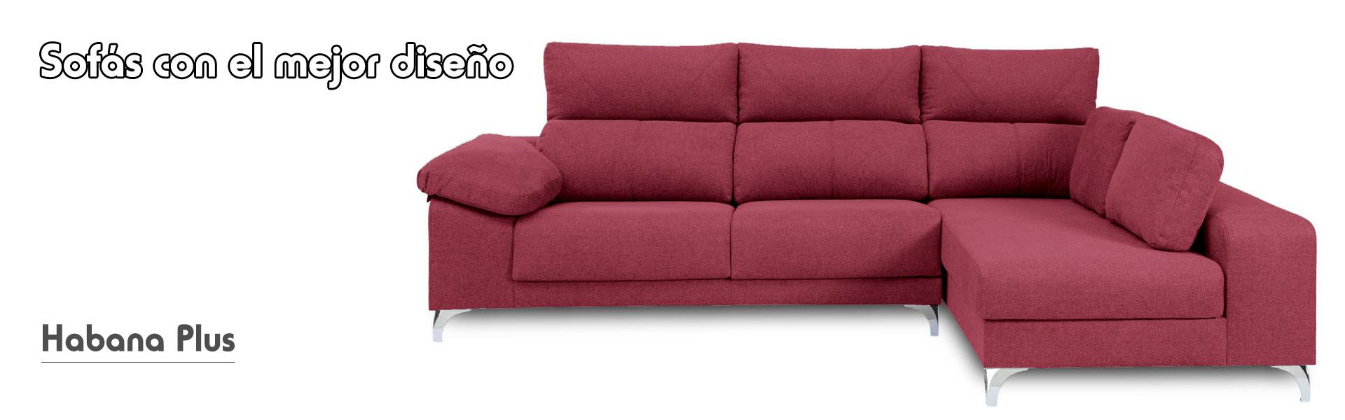 Sofa habana cuba bela rojo