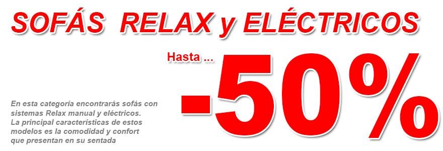 Sofa relax electricos