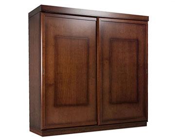 Armario puertas correderas madera