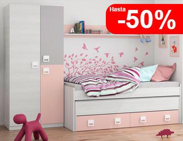 Dormitorios juveniles factory del mueble utrera for Precios de dormitorios juveniles