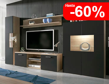 Muebles baratos factory del mueble utrera for Salones completos modernos precios