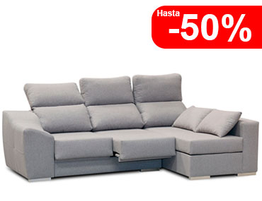 Sofa chaiselongue barato economico