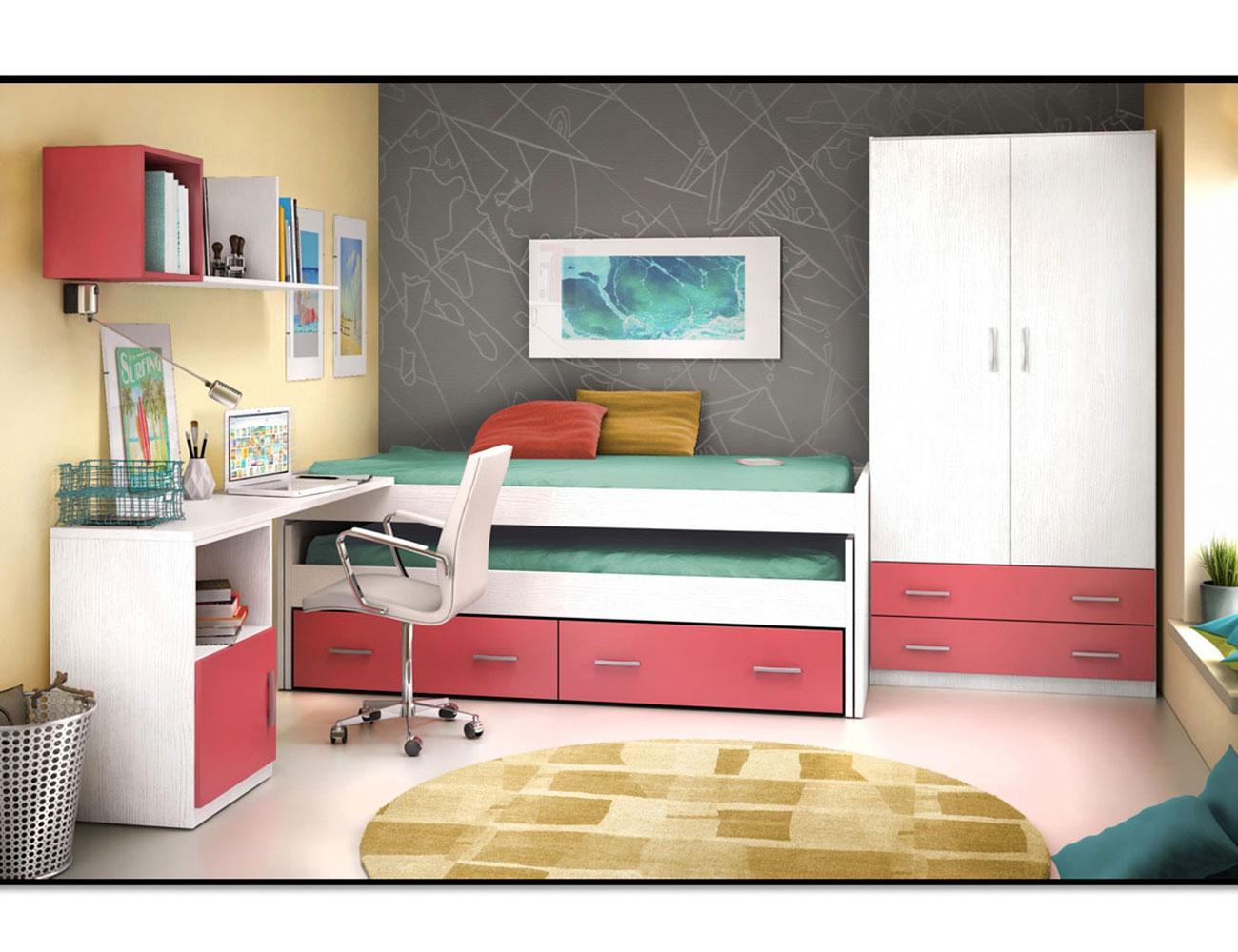 02 dormitorio juvenil cama block