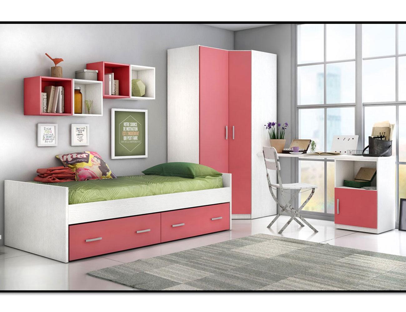 03 dormitorio juvenil cama nido