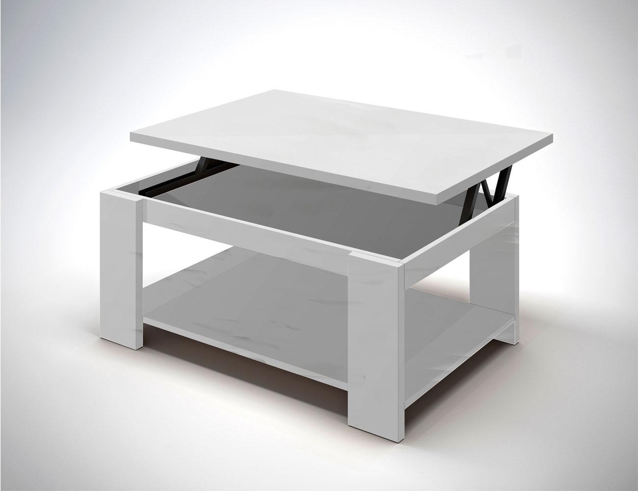 08 mesa elevable blanca