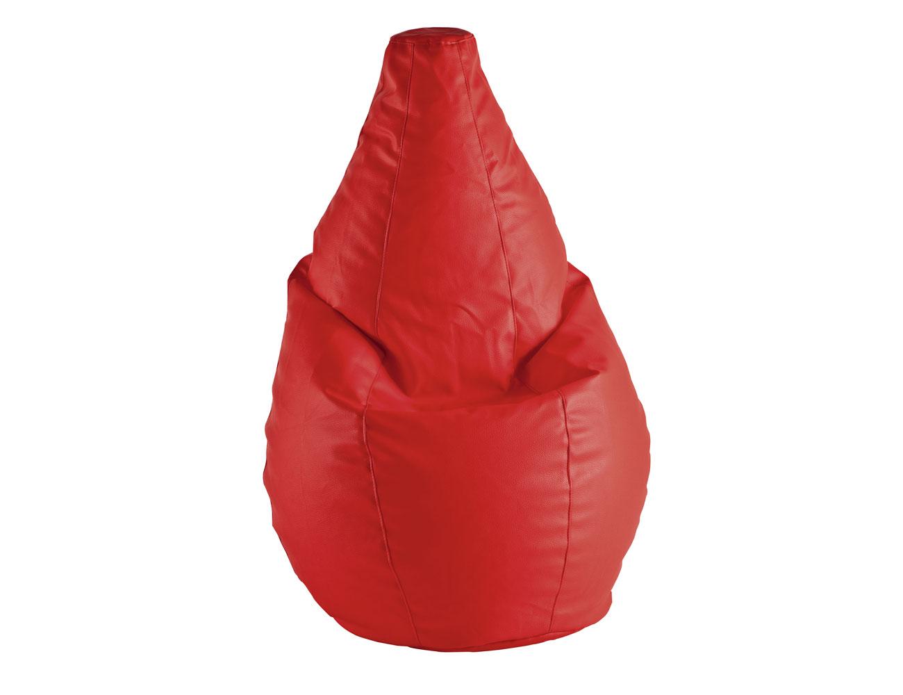 1 pera puffs amoldables rojo
