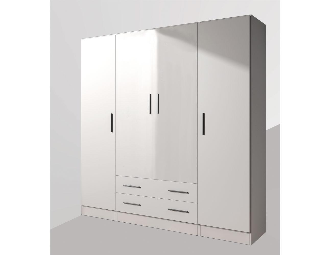 23 armario 4p 2c blanco artico1