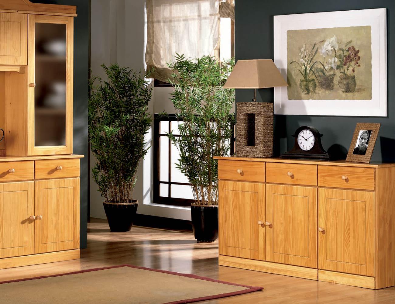 Aparador en color miel factory del mueble utrera - Muebles utrera ...