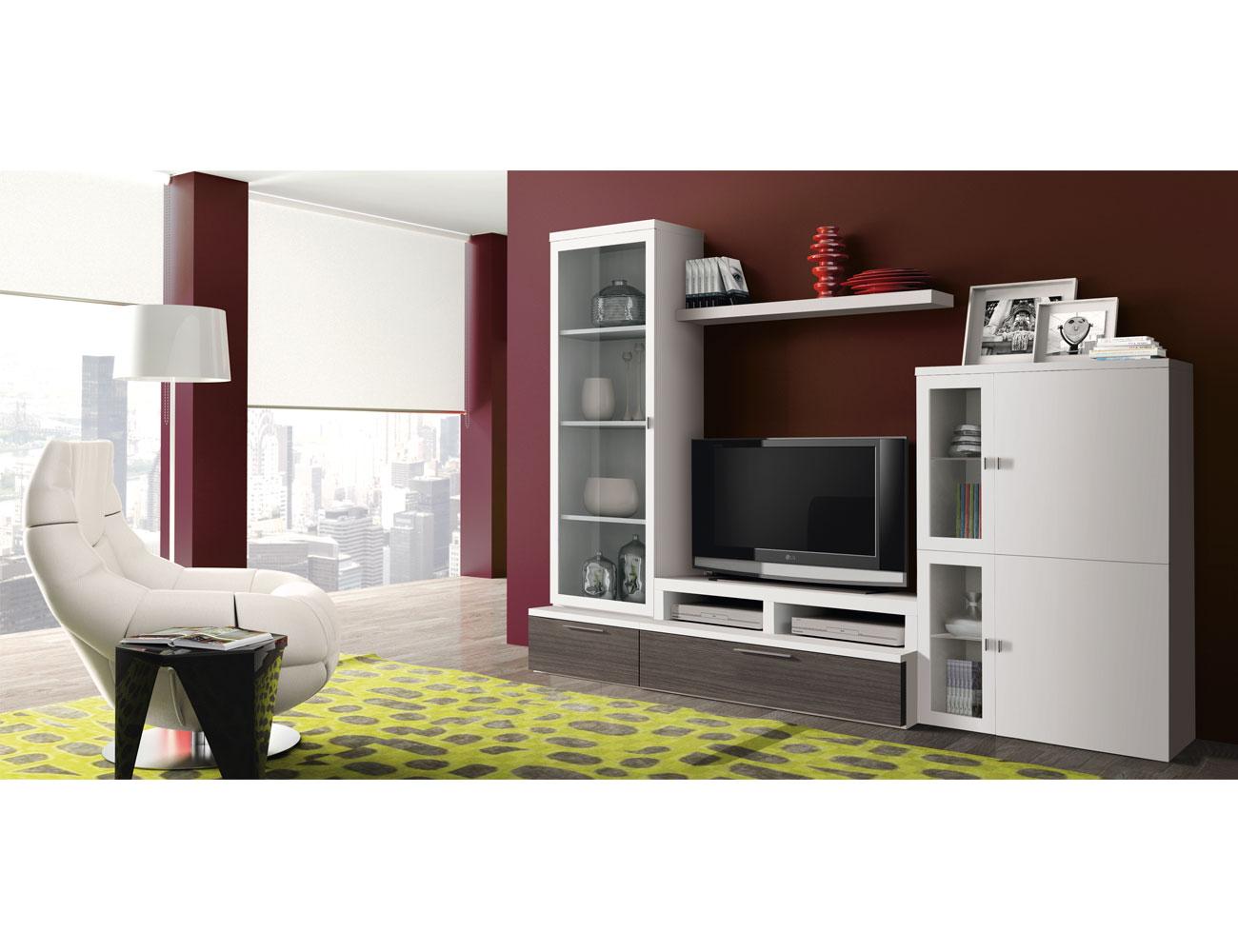 718 mueble salon comedor paisaje