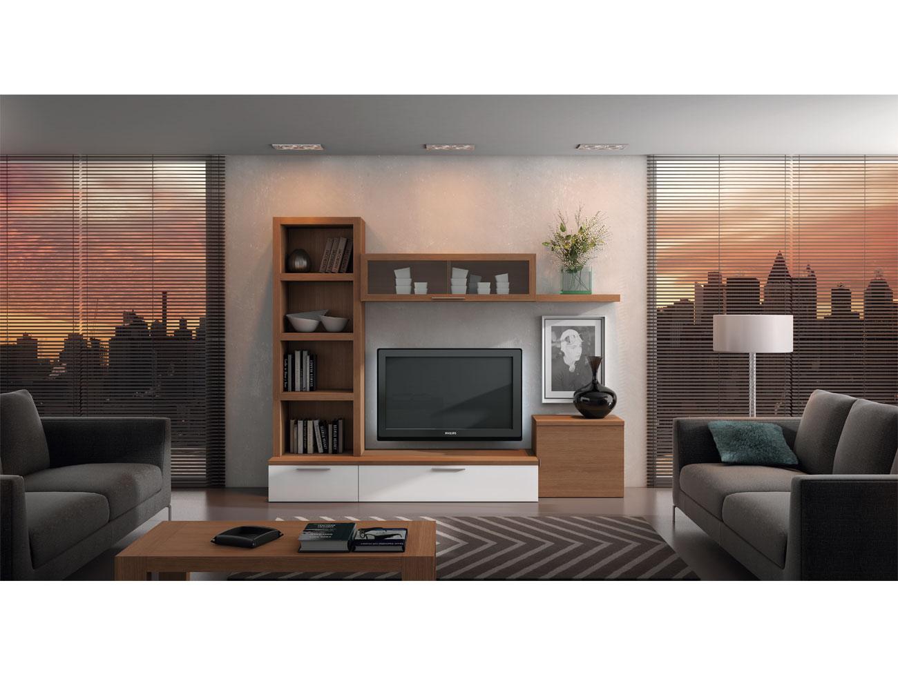 723 mueble salon comedor paisaje