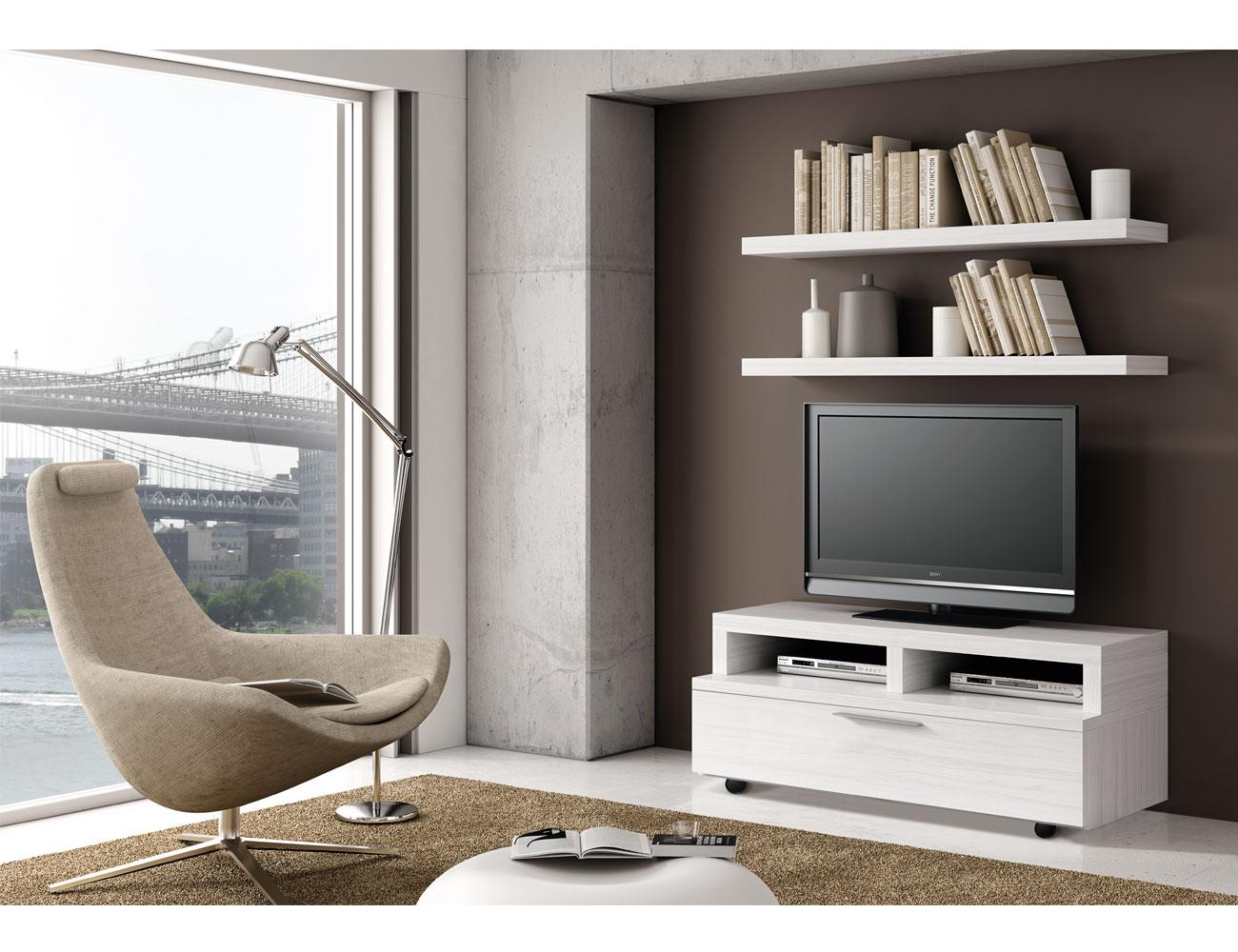 725 mueble tv paisaje