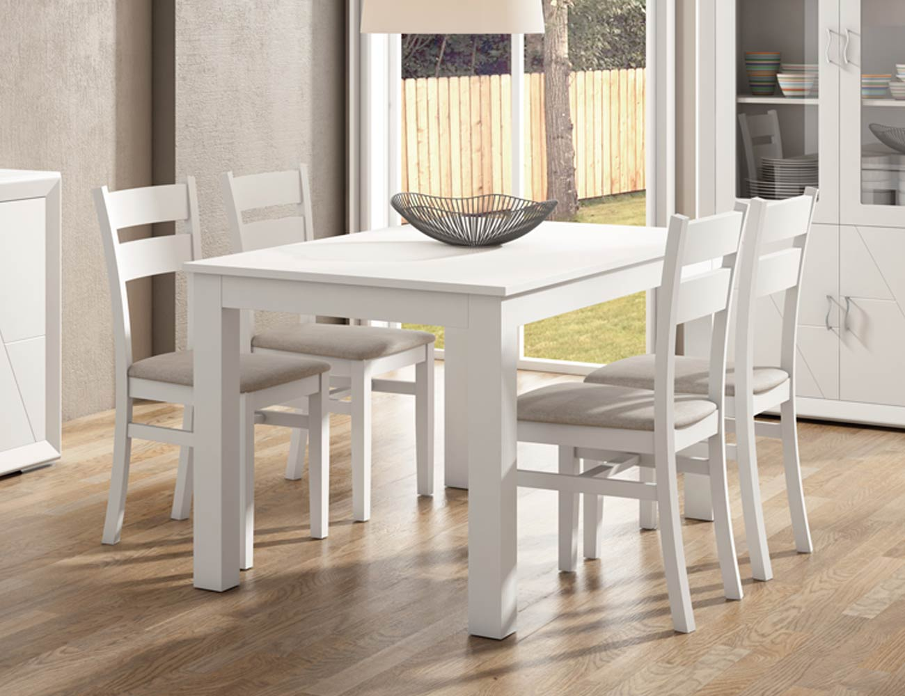 Muebles de gran calidad en madera con vitrina y platero en for Mueble platero