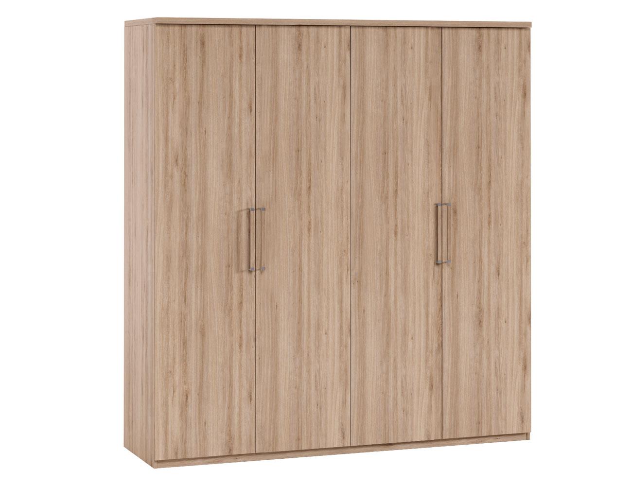 Dk49 armario puertas abatibles roble1