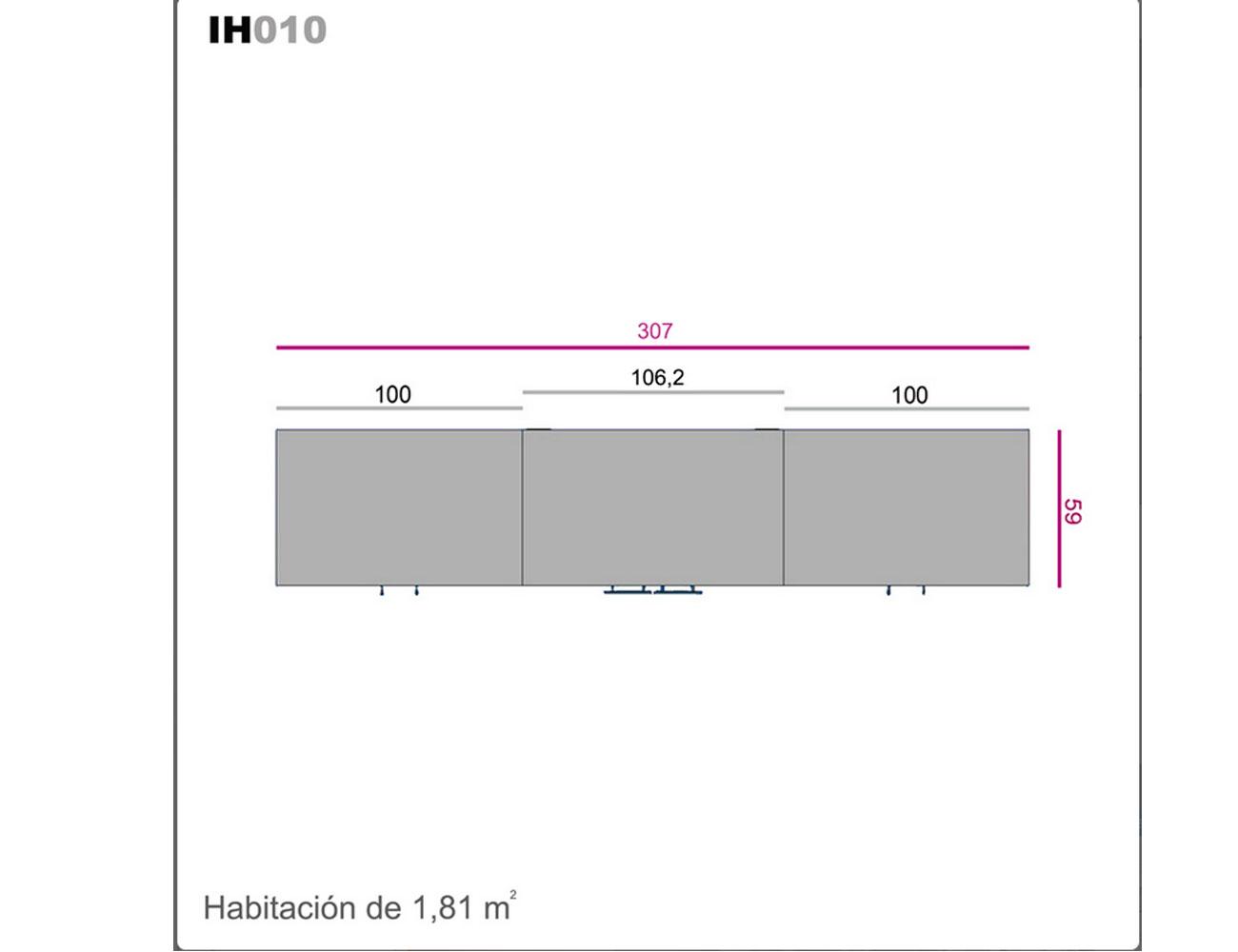 Ih010 medidas