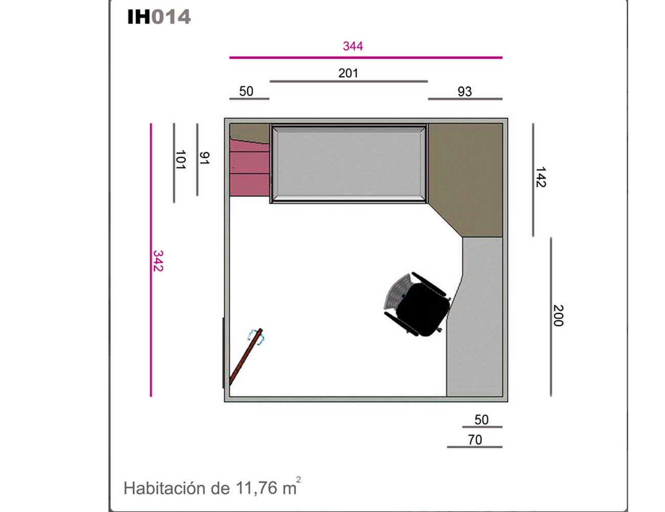 Ih014 medidas