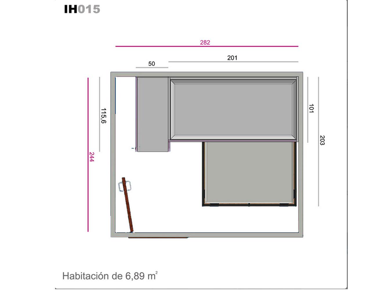Ih015 medidas