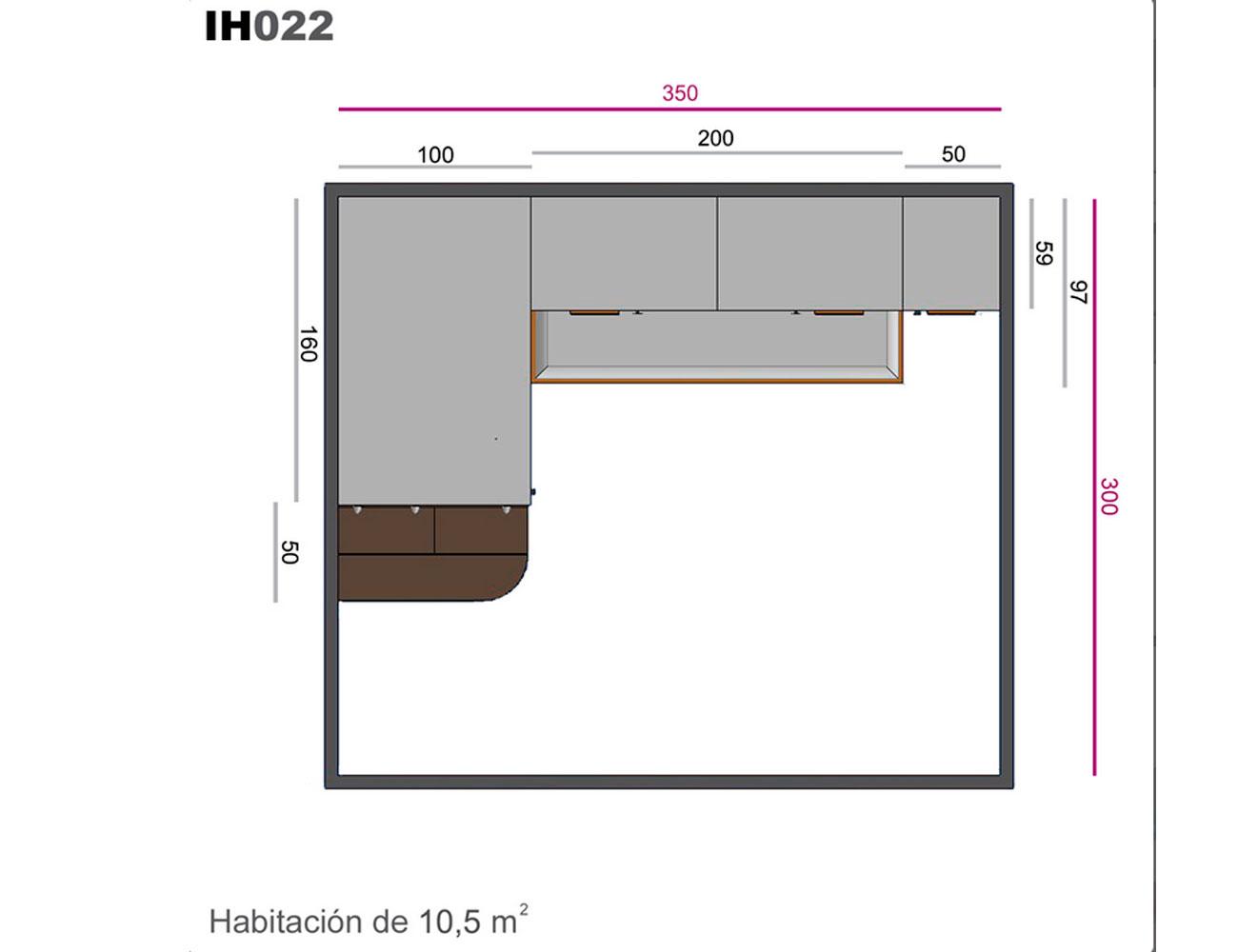 Ih022 medidas