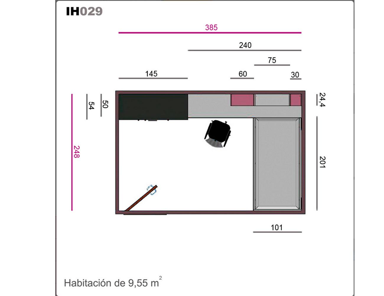 Ih029 medidas
