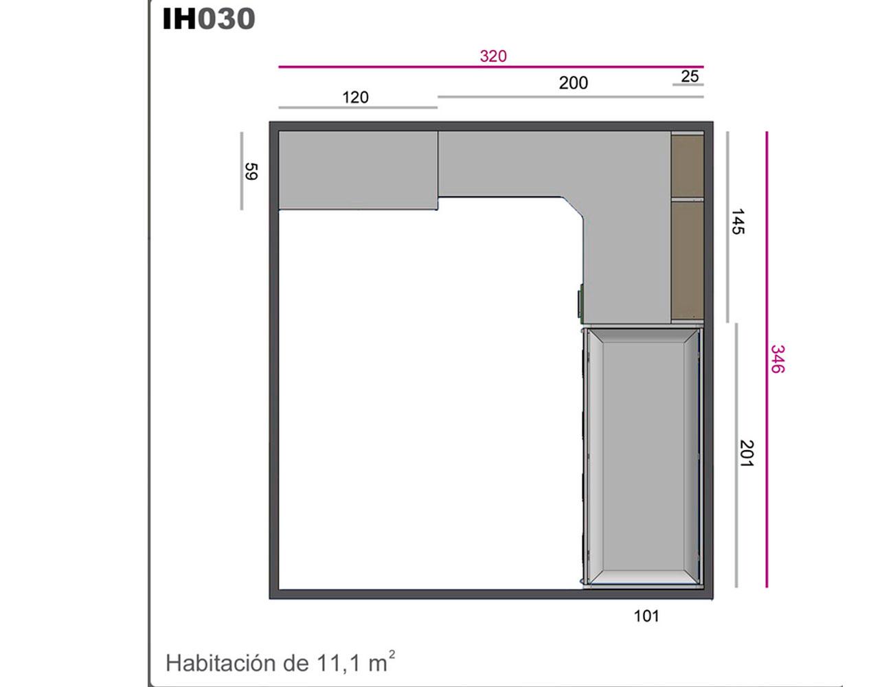 Ih030 medidas