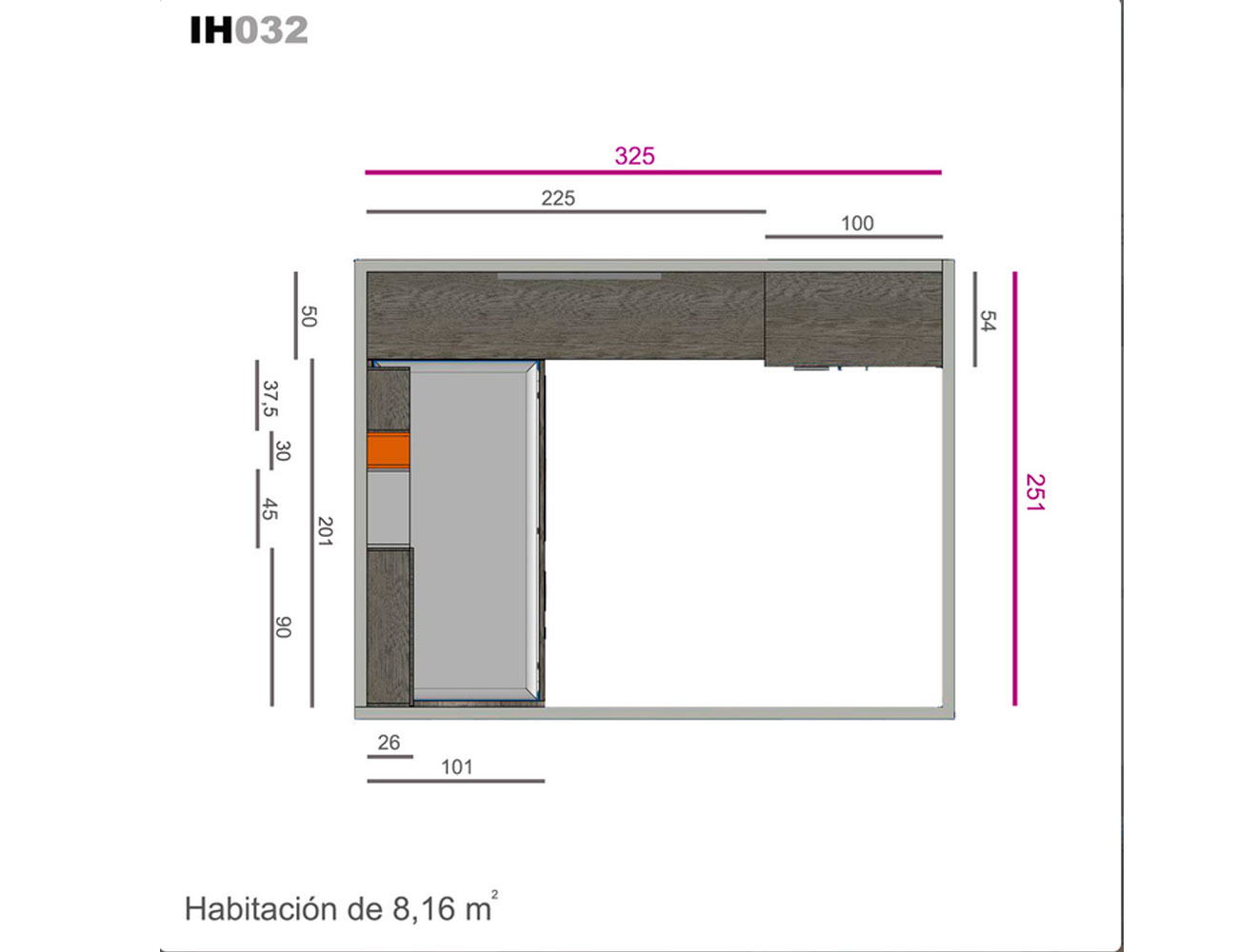 Ih032 medidas