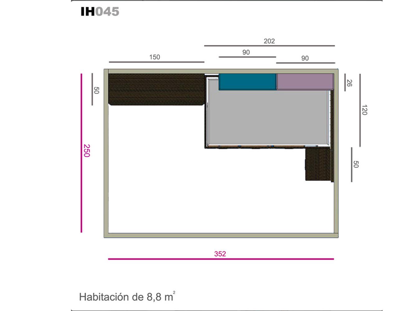 Ih045 medidas