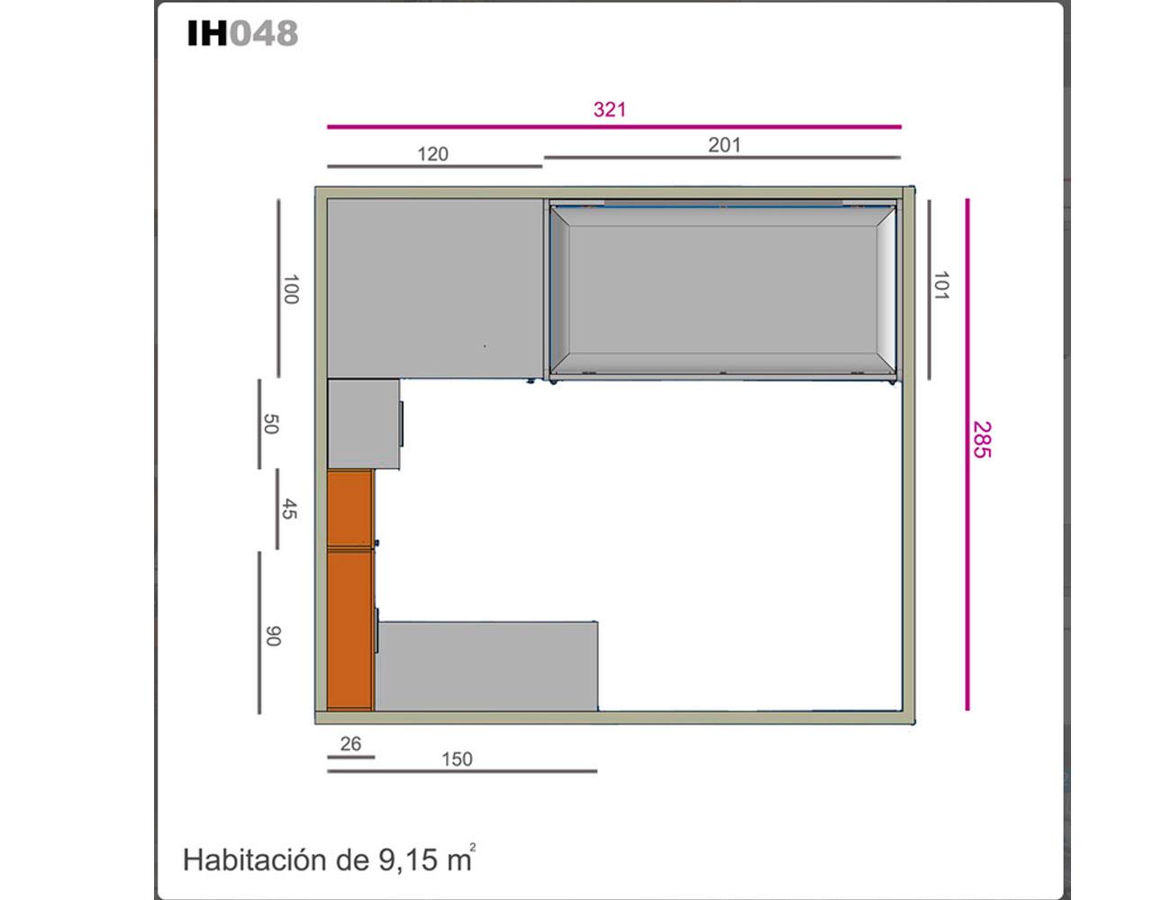 Ih048 medidas