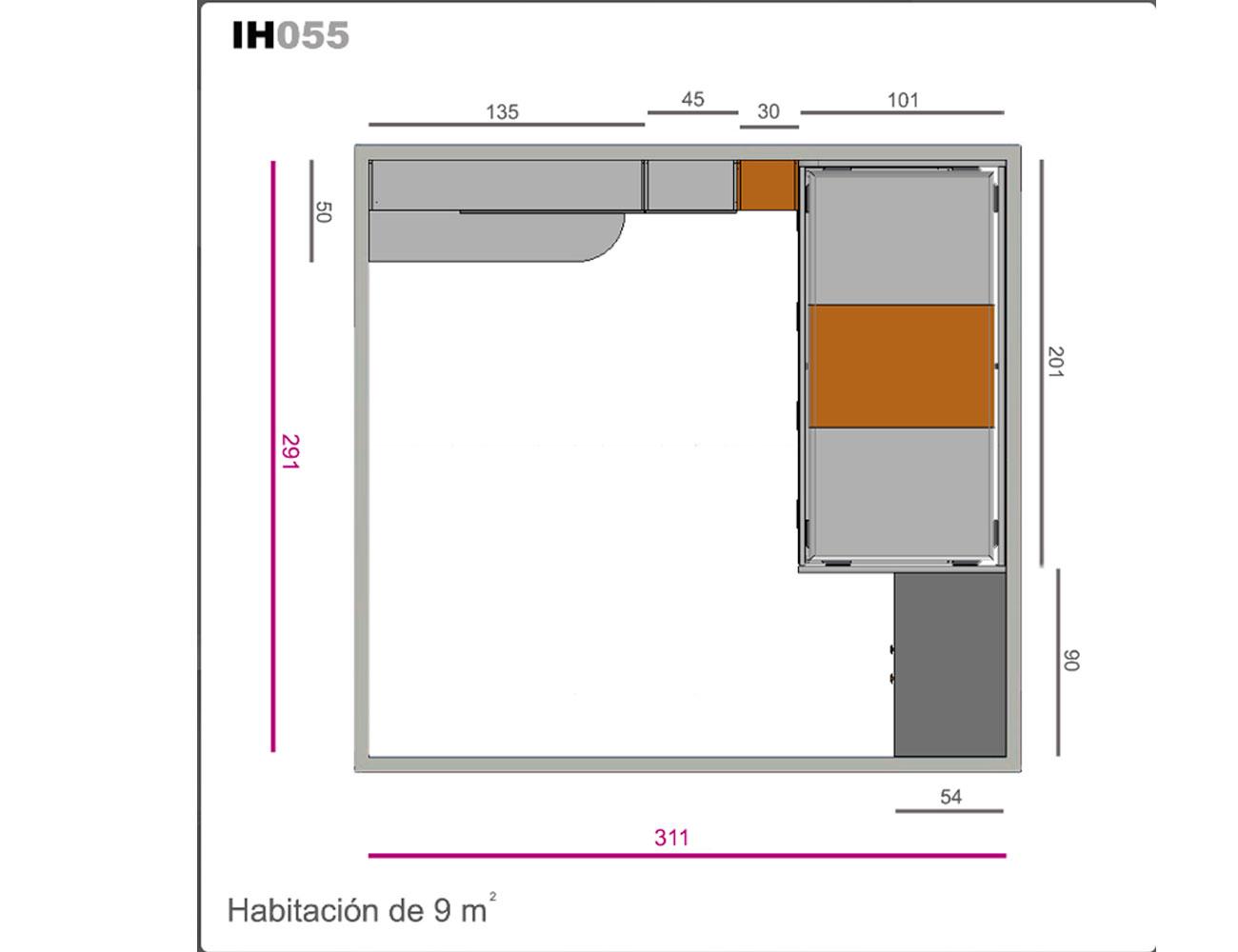 Ih055 medidas