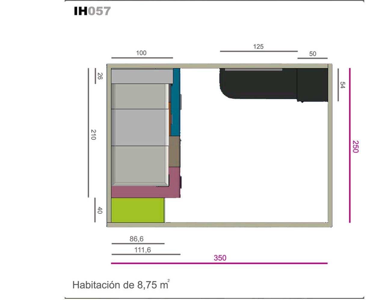Ih057 medidas