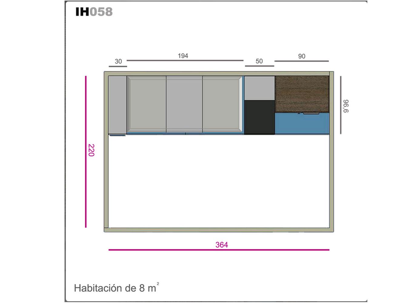 Ih058 medidas