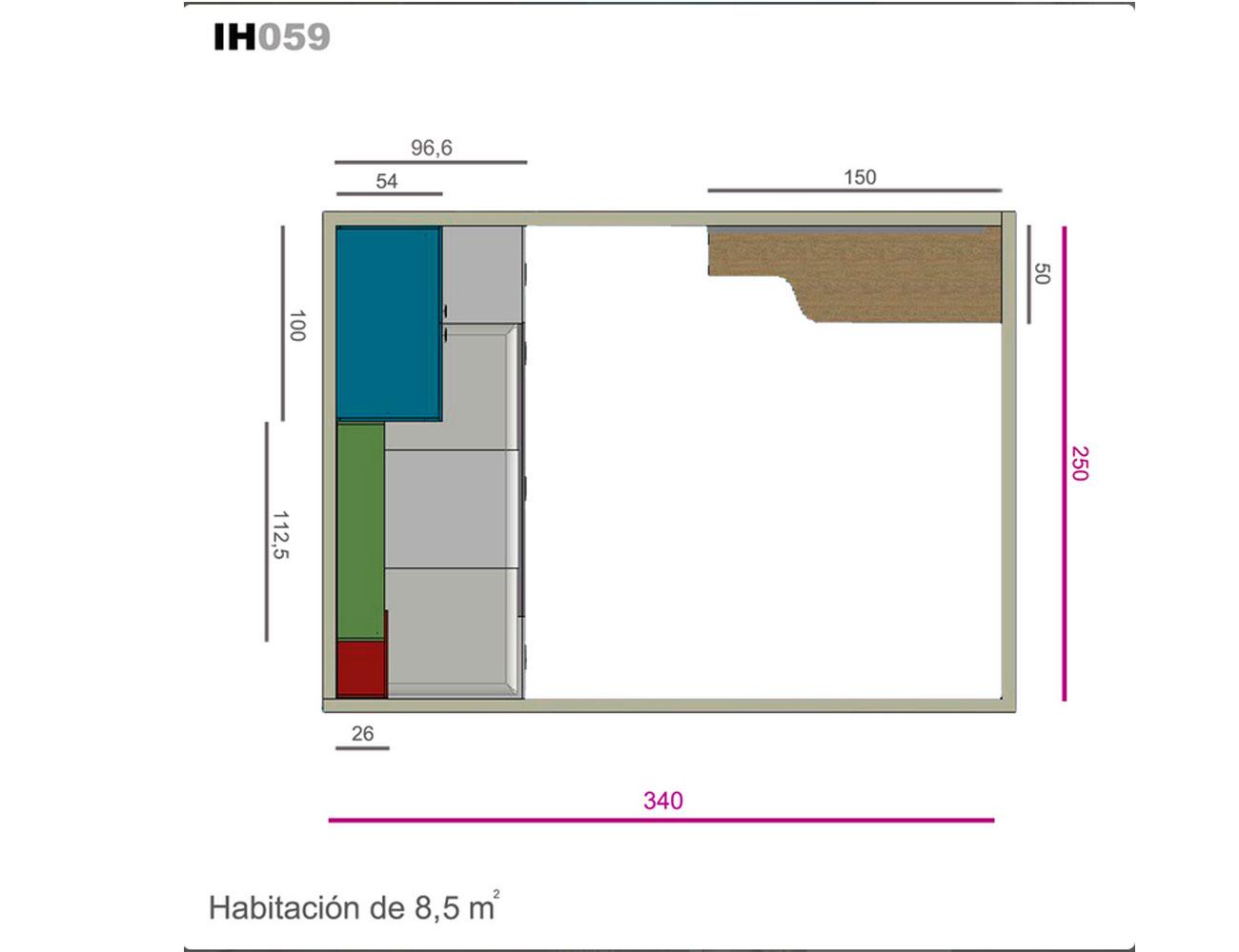 Ih059 medidas