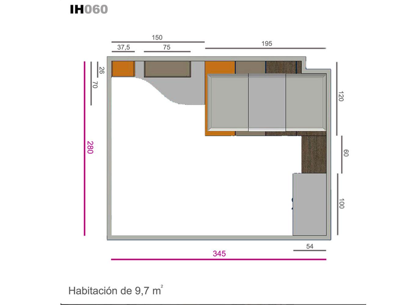 Ih060 medidas