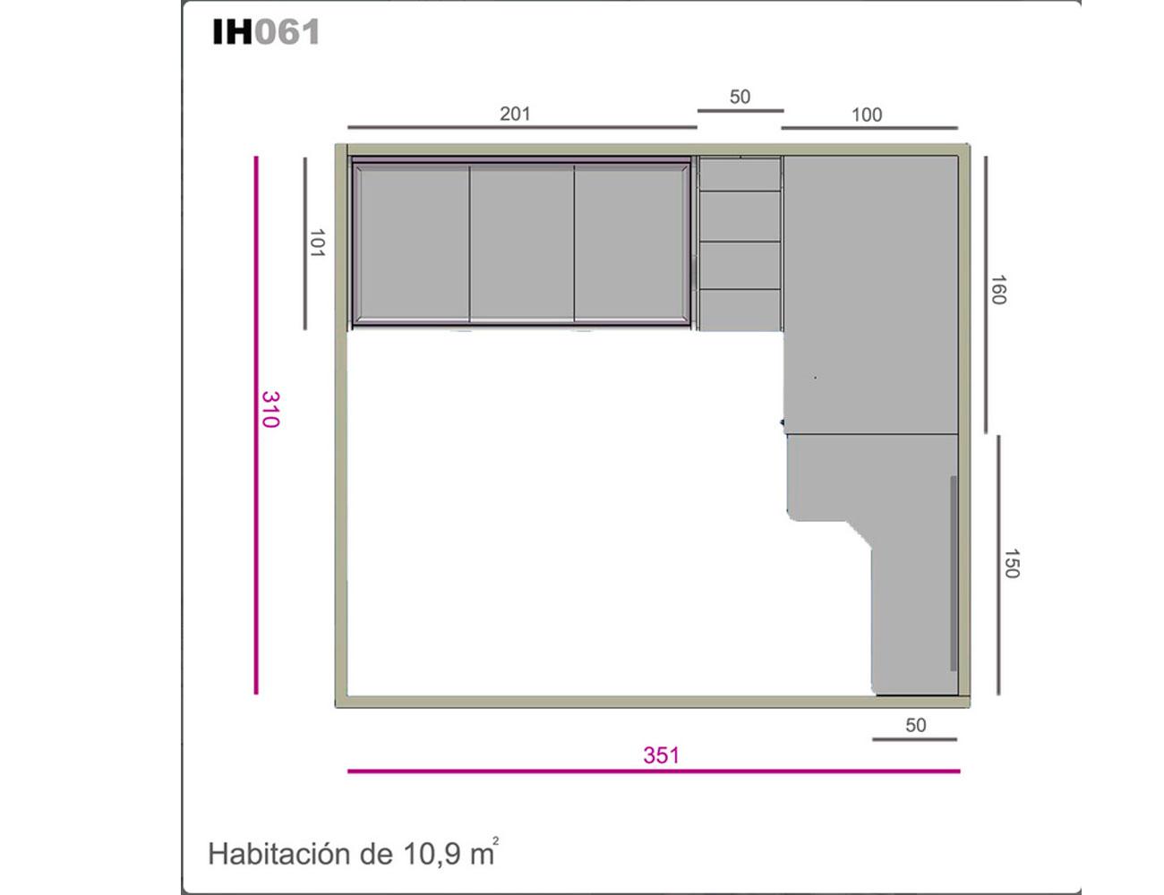 Ih061 medidas
