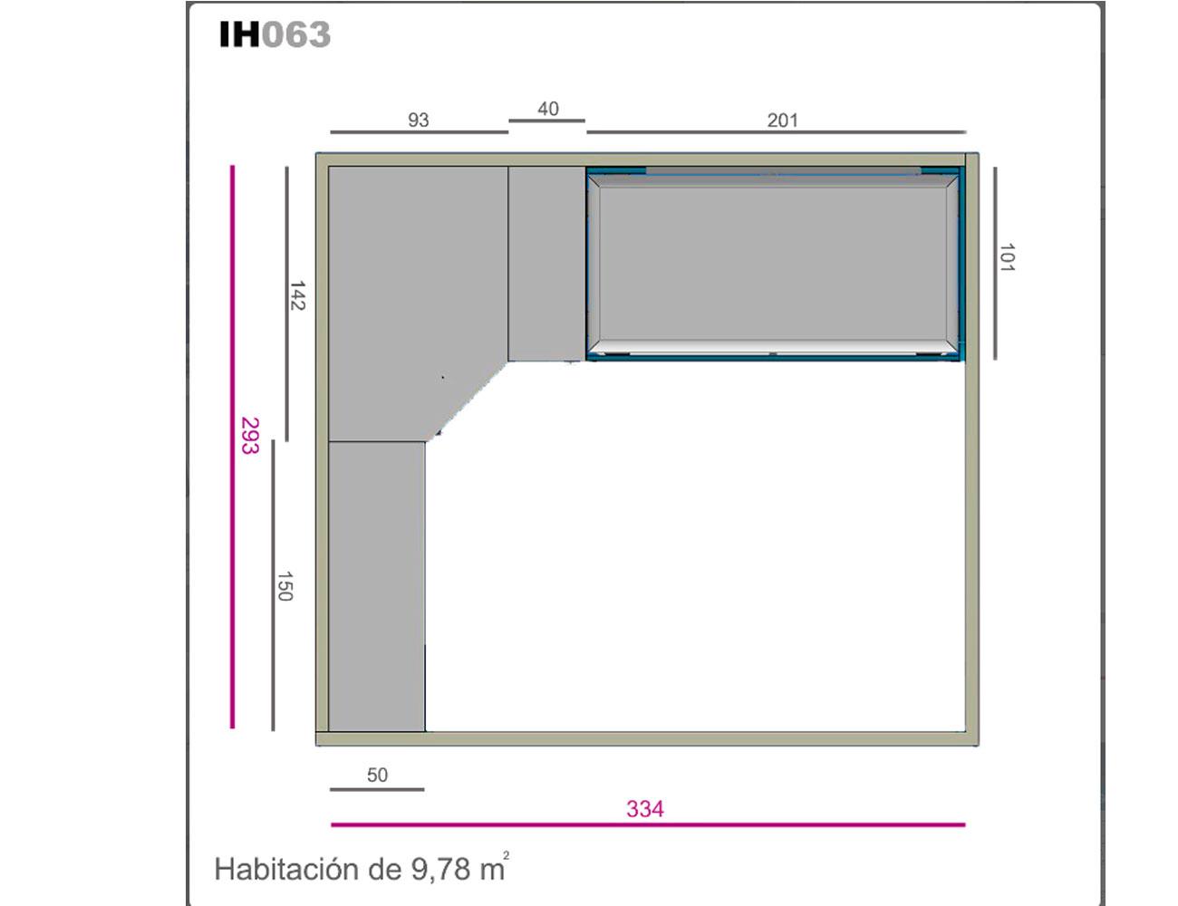 Ih063 medidas