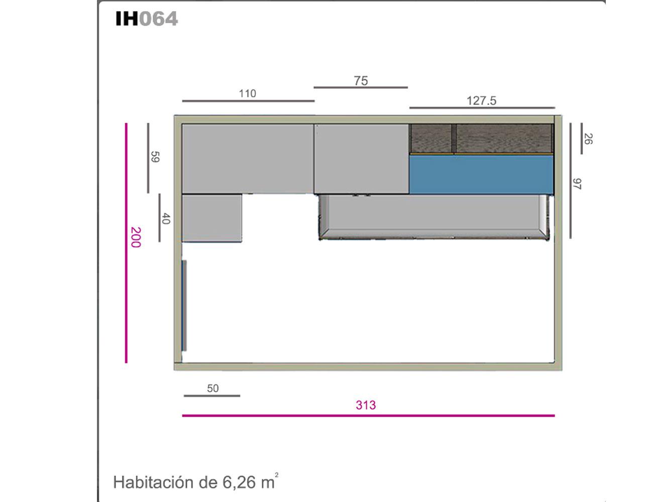 Ih064 medidas