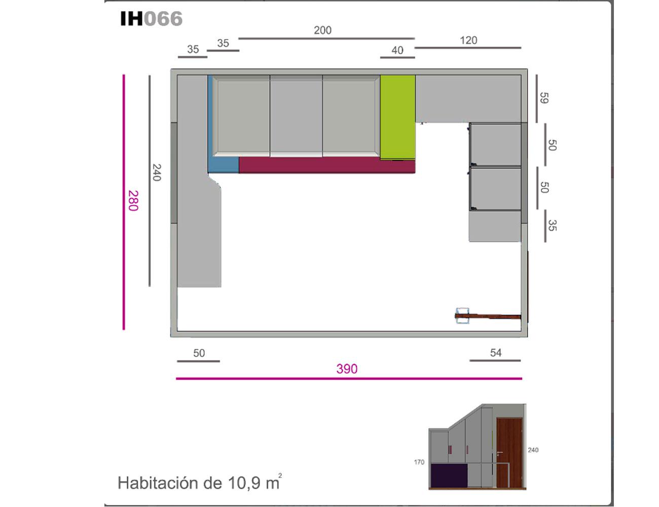Ih066 medidas