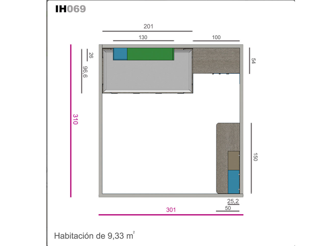 Ih069 medidas