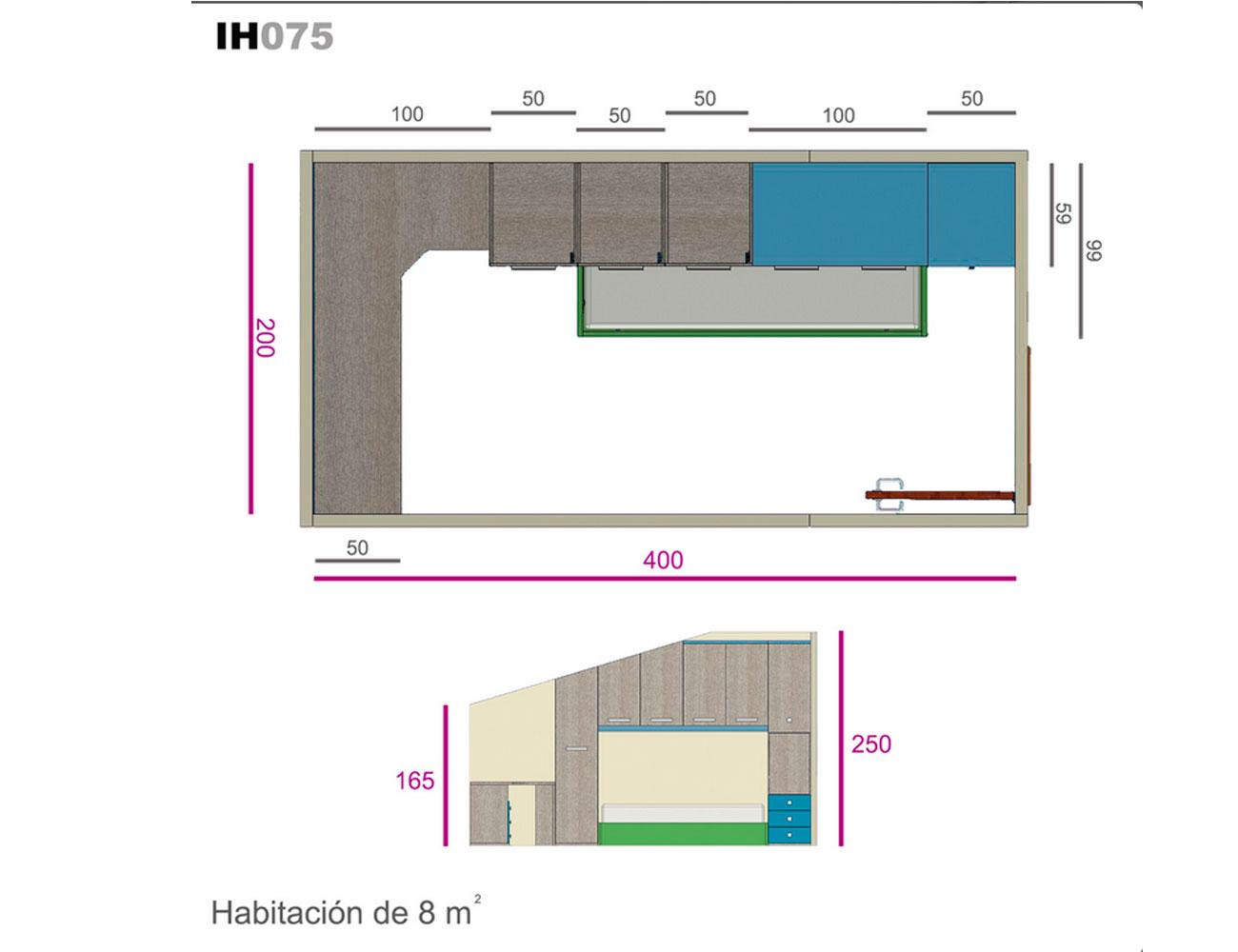 Ih075 medidas