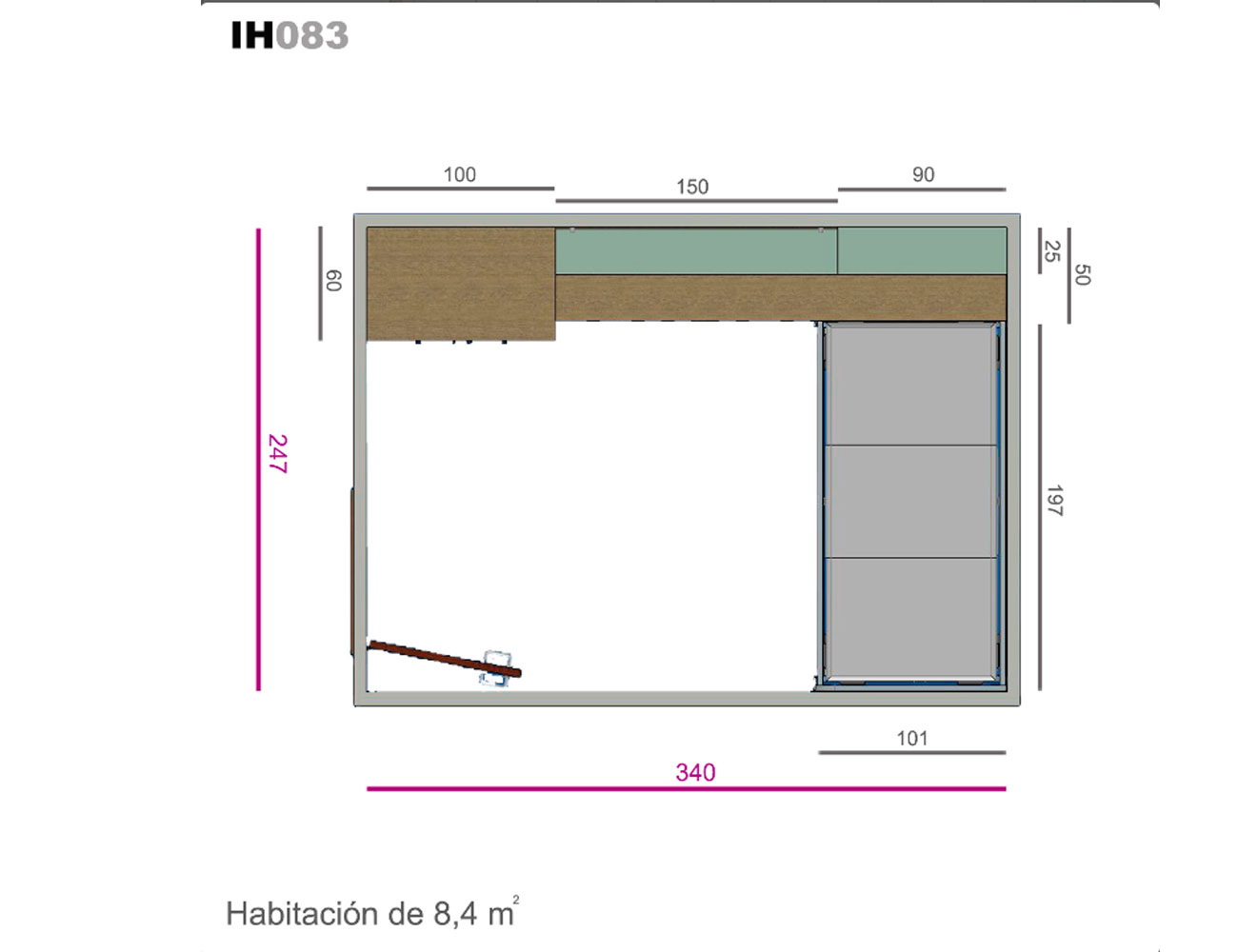 Ih083 medidas