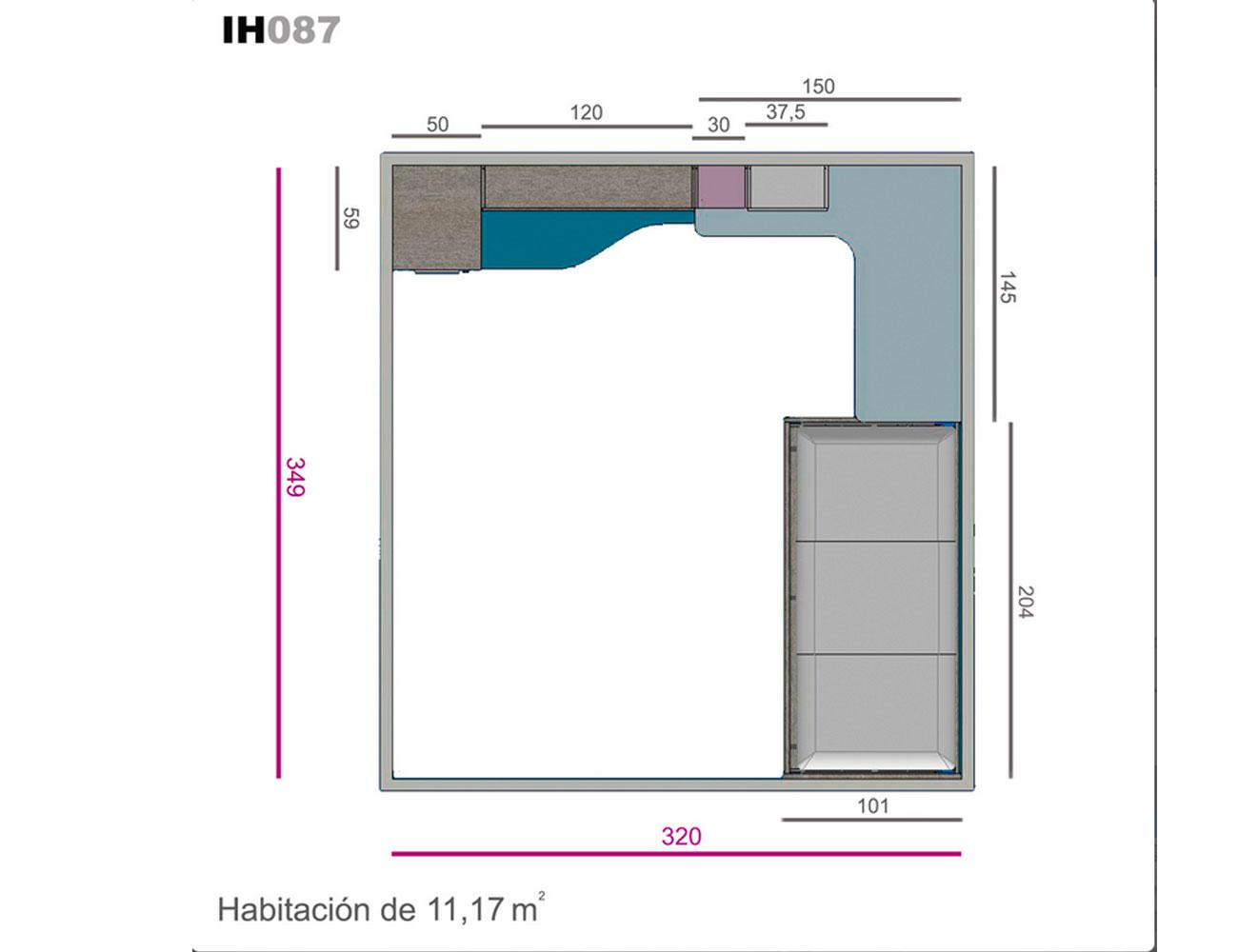 Ih087 medidas