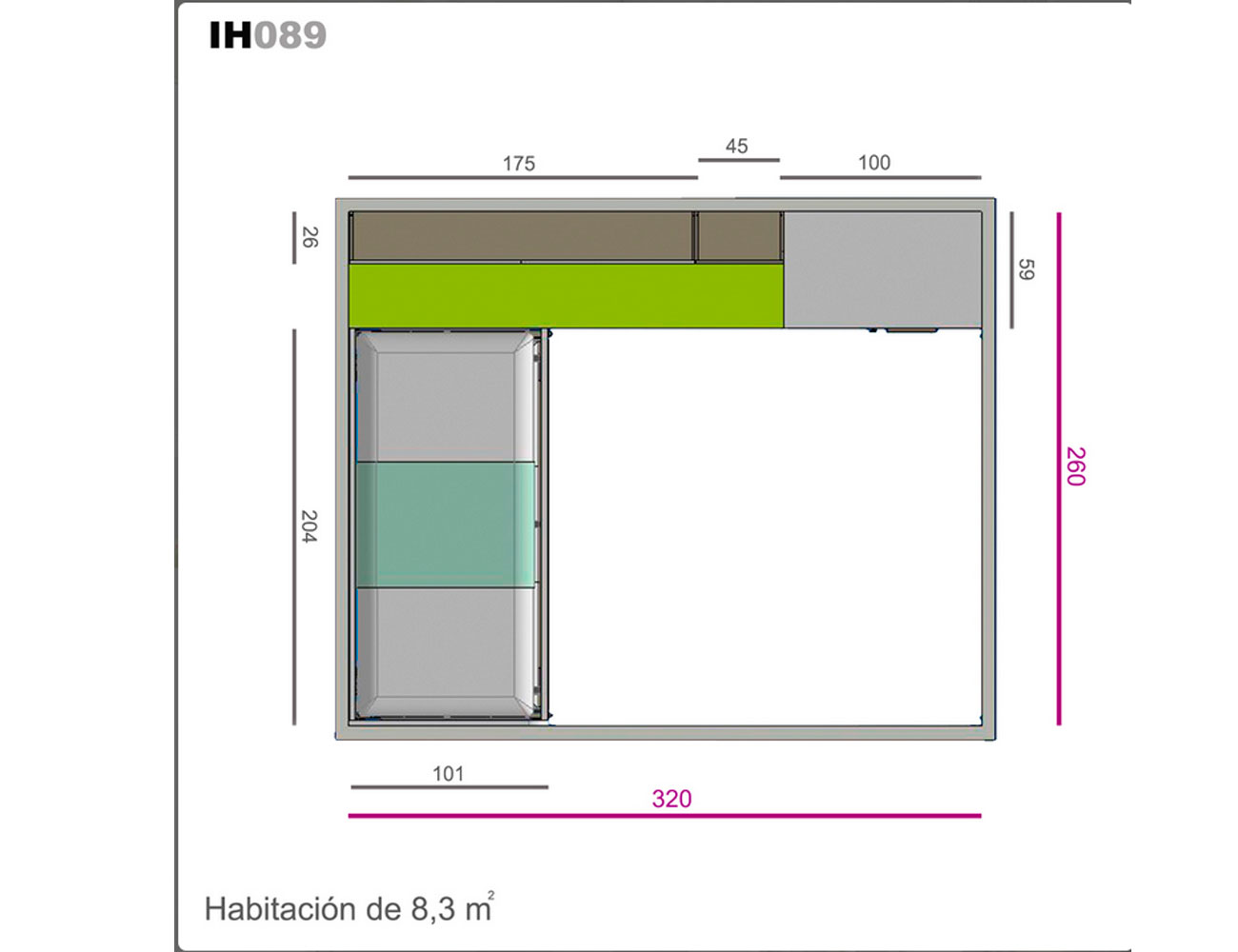 Ih089 medidas