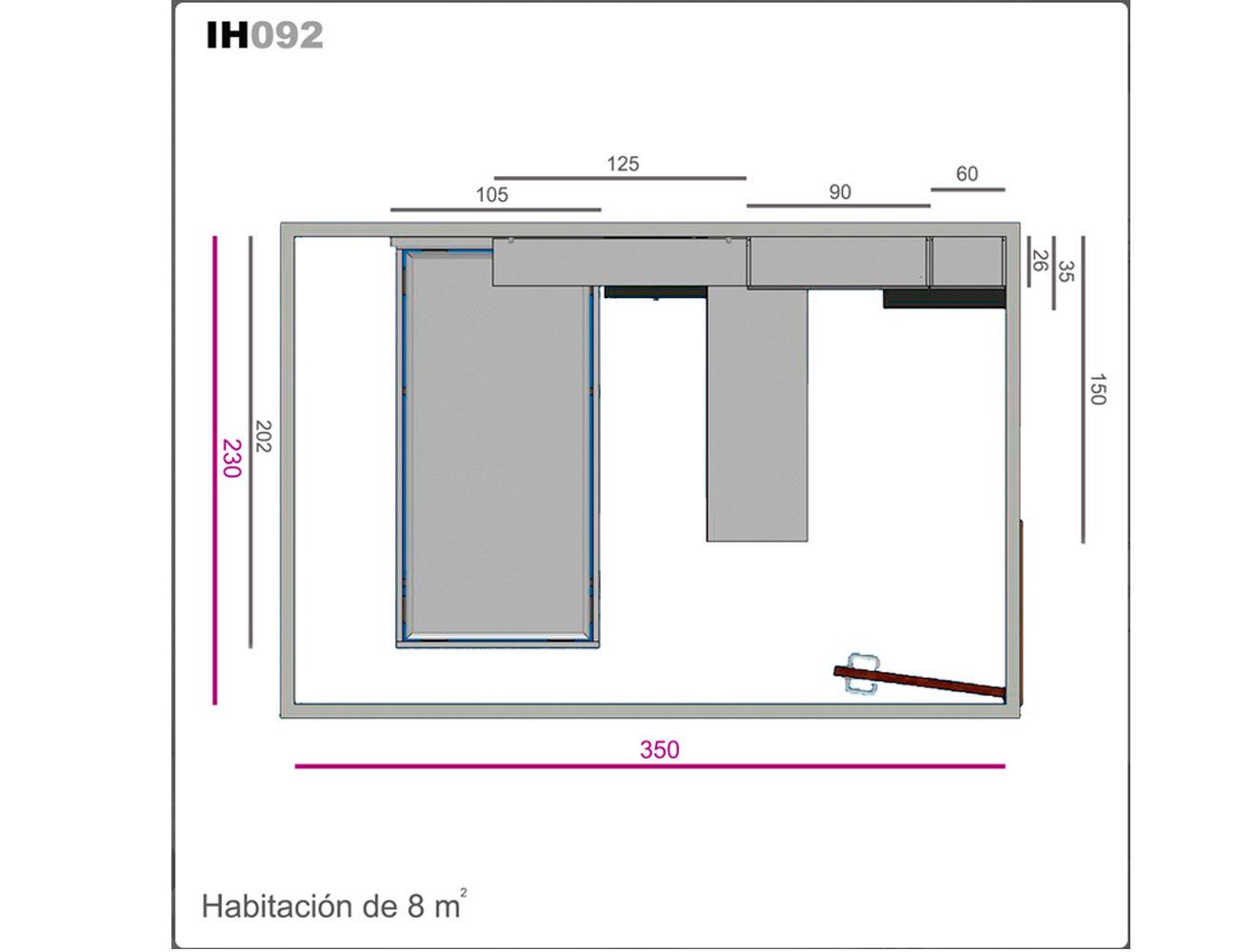 Ih092 medidas