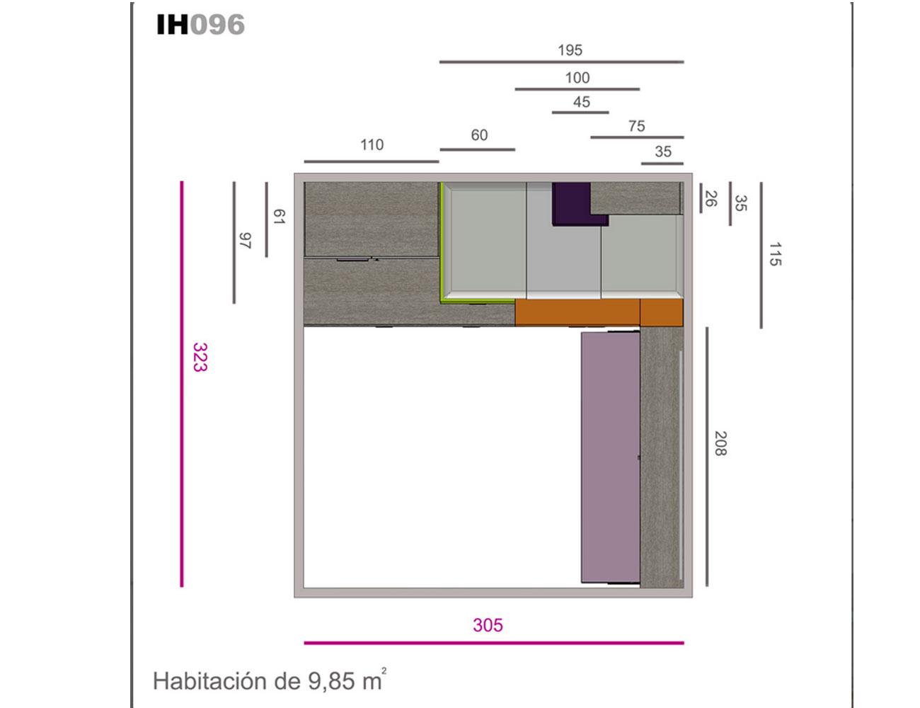 Ih096 medidas